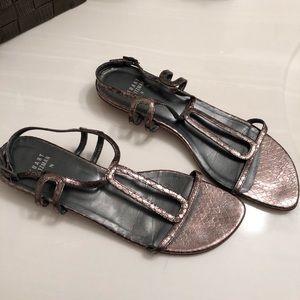 STUART WEITZMAN | Vintage snakeskin sandals